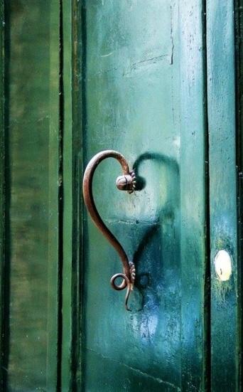 Door Heart Love