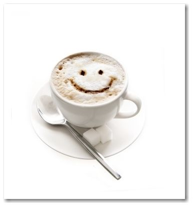 smile coffee cup