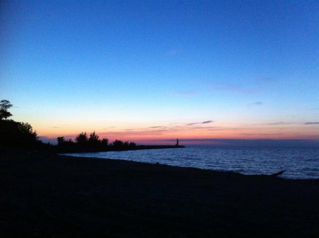 RRiver Sunset