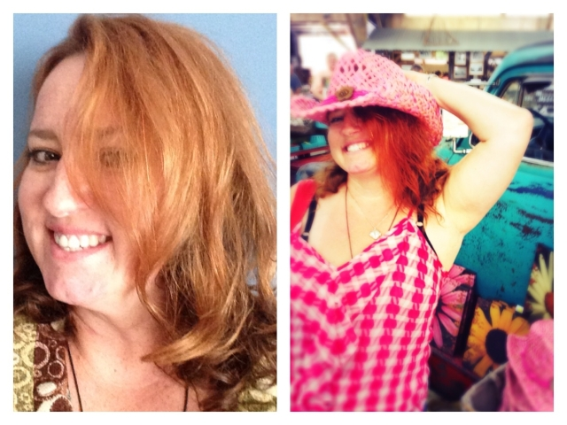 collage Ginger Hair