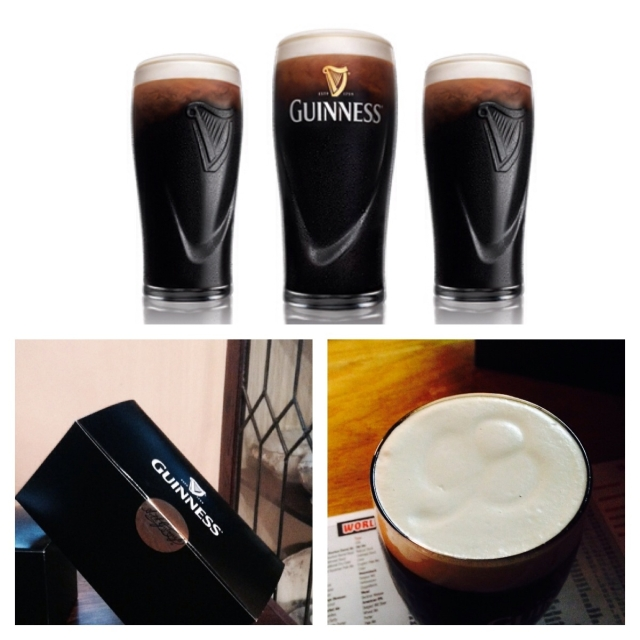 guinness collage