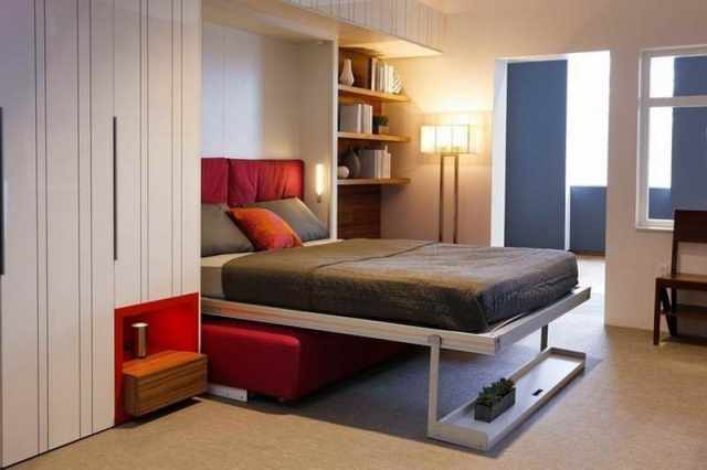 Italian-Murphy-Bed-with-white-cabinets