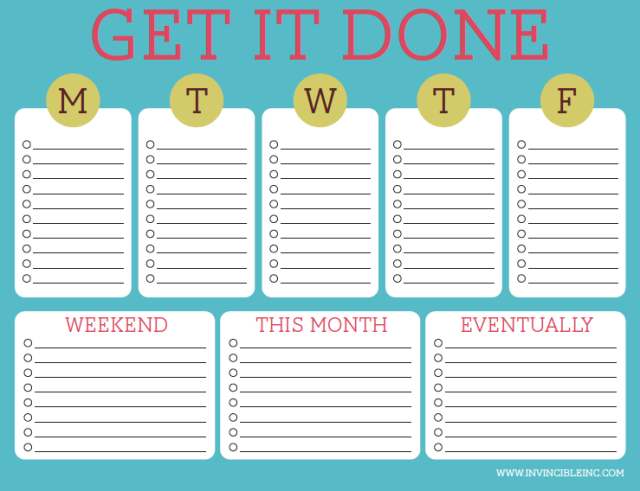 Weekly-to-do
